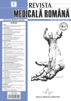 REVISTA MEDICALA ROMANA - Romanian Medical Journal, Vol. LXI, Nr. 3, An 2014