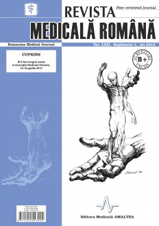 REVISTA MEDICALA ROMANA - Romanian Medical Journal, Vol. LXII, Supliment, An 2015
