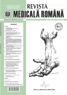 REVISTA MEDICALA ROMANA - Romanian Medical Journal, Vol. LVII, Nr. 1, An 2010