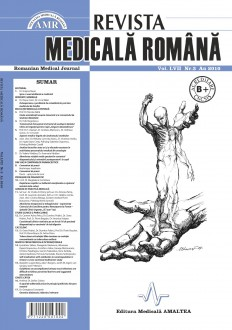 REVISTA MEDICALA ROMANA - Romanian Medical Journal, Vol. LVII, Nr. 3, An 2010