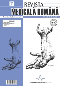 REVISTA MEDICALA ROMANA - Romanian Medical Journal, Vol. LX, Nr. S, An 2013