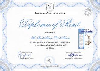 Diploma of Merit