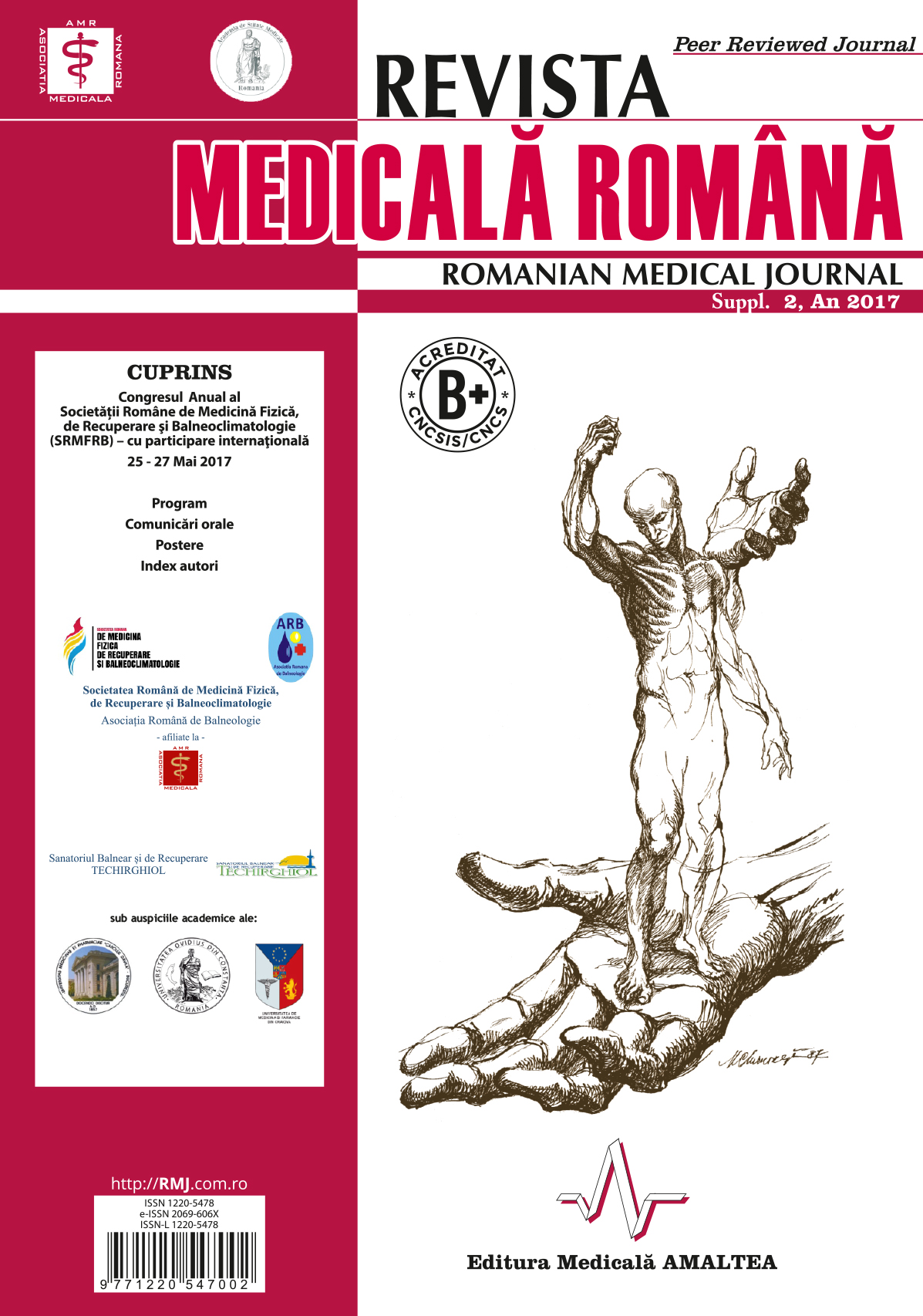 REVISTA MEDICALA ROMANA - Romanian Medical Journal, Vol. LXIV, Suppl. 2, An 2017