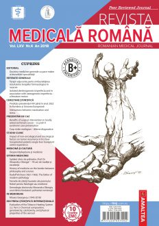 REVISTA MEDICALA ROMANA - Romanian Medical Journal, Vol. LXV, Nr. 4, An 2018