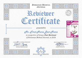 Reviewer Certificate