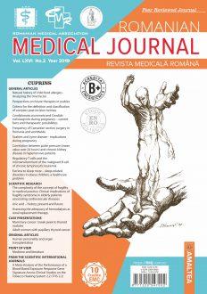 Romanian Medical Journal   Vol. LXVI, No. 2, Year 2019