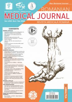 Romanian Medical Journal | Vol. LXVII, No. 2, Year 2020