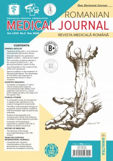 Romanian Medical Journal | Vol. LXVII, No. 3, Year 2020