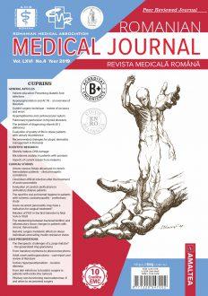 Romanian Medical Journal   Vol. LXVI, No. 4, Year 2019