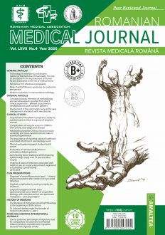 Romanian Medical Journal | Vol. LXVII, No. 4, Year 2020