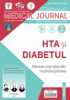 Romanian Medical Journal | Vol. LXVI, Suppl. 2, Year 2019